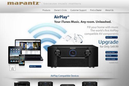 Apple AirPlay på Marantz - Blogg - Hembiobutiken