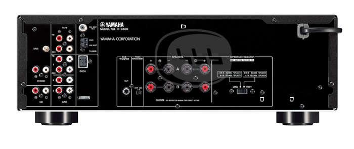 yamaha r s500 stereoreceiver f rst rkare. Black Bedroom Furniture Sets. Home Design Ideas