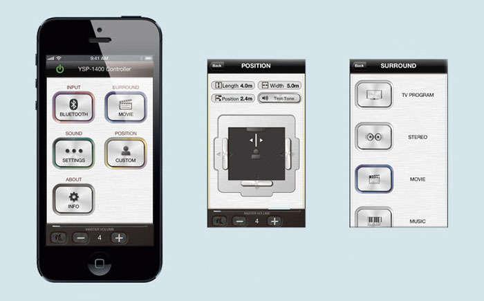 Yamaha ysp 1400 soundbar soundbars for Yamaha ysp 1400 app