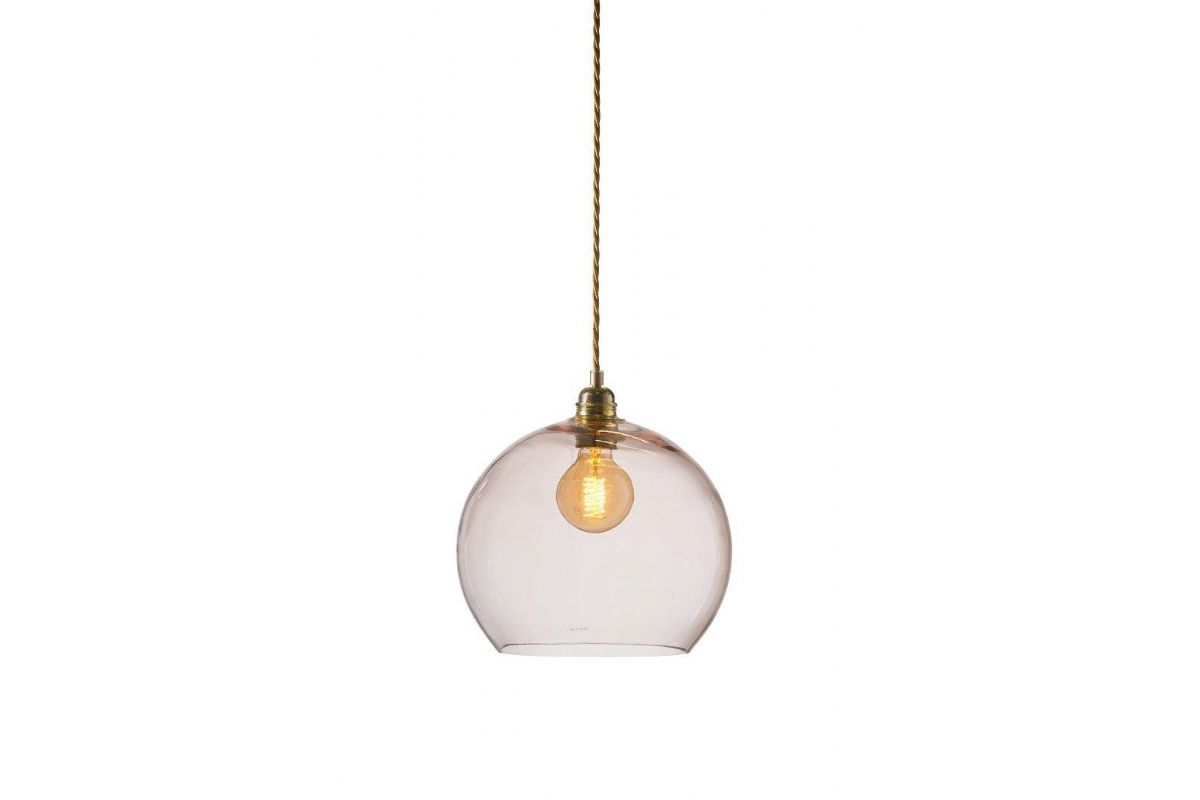Ebb and Flow Rowan pendant lamp bright coral
