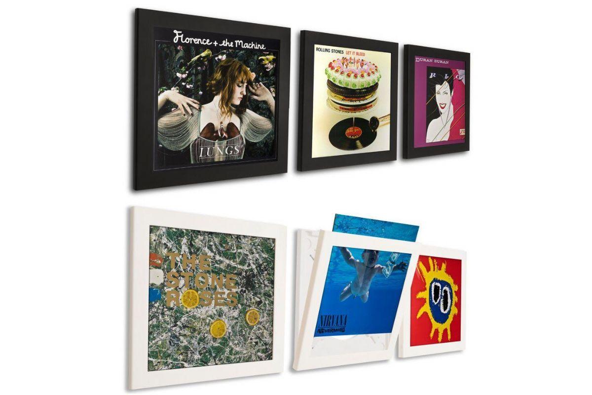 Art Vinyl Flip Record Frame - Skivspelartillbehör - Vinyl