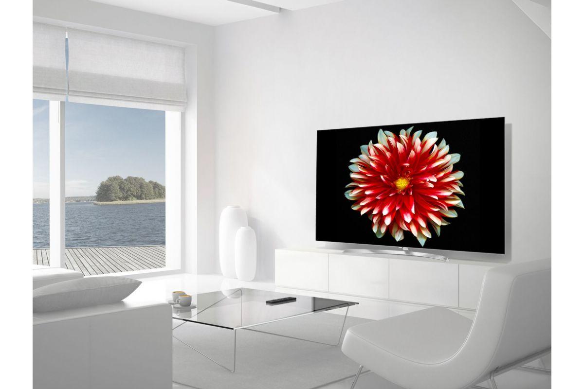 lg oled55b7v 55 tum tv apparater. Black Bedroom Furniture Sets. Home Design Ideas