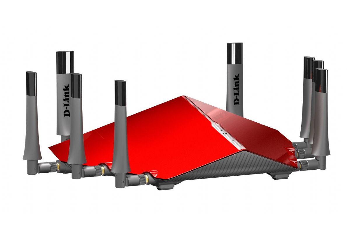 D-Link DIR-895L AC5300 Röd